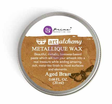 Art Alchemy - Metallique Wax - Aged Brass