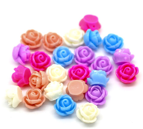 Resin Flowers 10mm