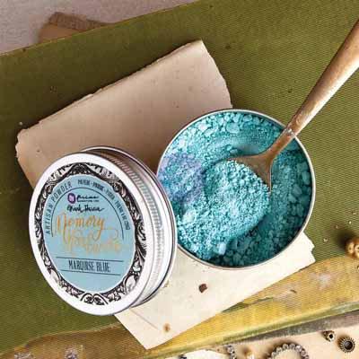 Memory Hardware Artisan Powder - Marquise Blue