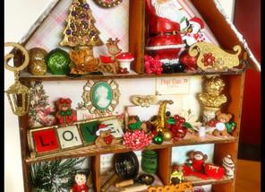 Christmas Shadow Box Delight