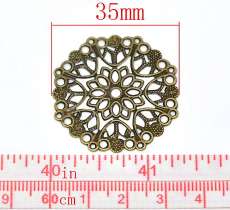 Small Circle Filligree