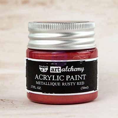 Art Alchemy - Metallique Rusty Red