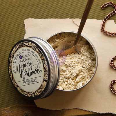 Memory Hardware Artisian Powder - Vintage Ivory
