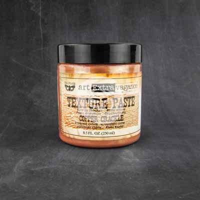 Art Basics - Texture Paste - Copper Crackle