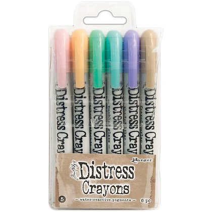 Tim Holtz Distress Crayon Set #5
