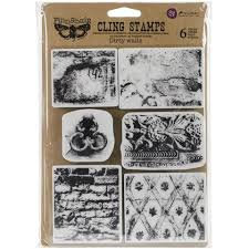 Finnabair Cling Stamp - Dirty Walls