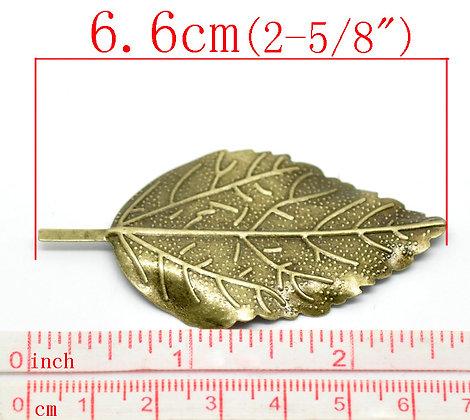 Solid Leaf Filligree