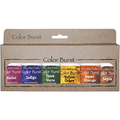 Ken Oliver Colour Burst - Earth Tones