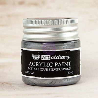 Art Alchemy - Metallique Silver Spoon