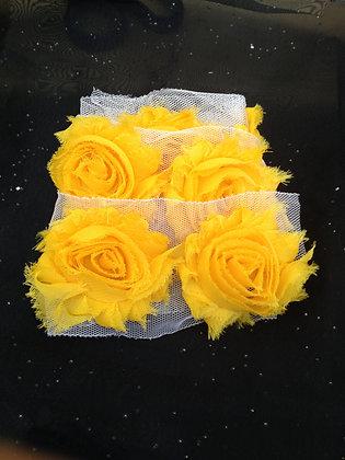 Chiffon Flower Trim