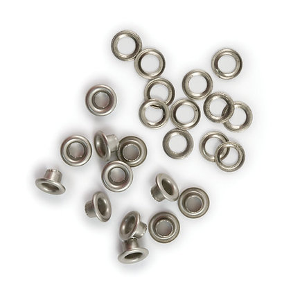 "We R Memory Keepers 3/16"" Eyelets & Washers/Nickel"