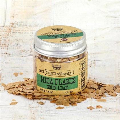 Art Ingredients - Mica Flakes - Gold Leaf
