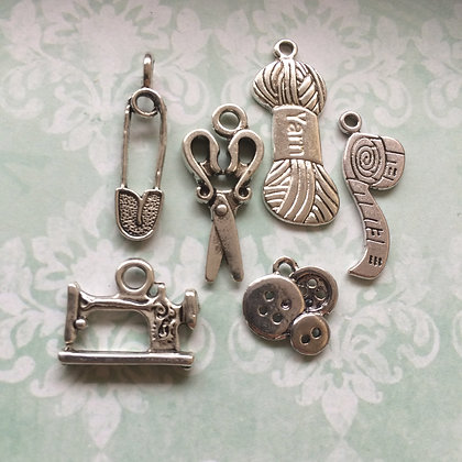 Sewing Kit Charms