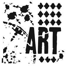 Rebekah Meier Mini Viva La Art 6x6 Stencil 488
