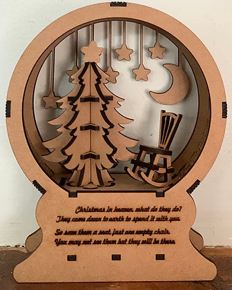 Christmas in Heaven Globe