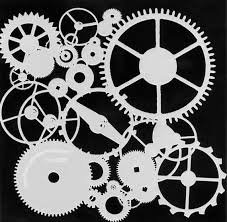 Crafter Workshop 6x6 Stencil Mini Gears 262s