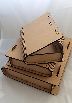 MDF Book Boxes