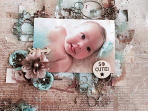 "My Baby Girl ""Madison""Layout"