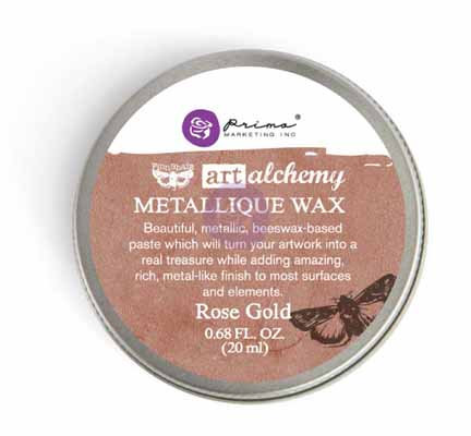 Art Alchemy - Metallique Wax - Rose Gold