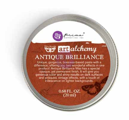 Prima Art Alchemy - Antique Brilliance - Red Amber