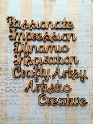 Creative Word Pack