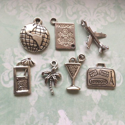 Travel Abroad Charms