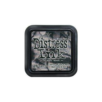Tim Holtz Distress Ink Pad - Black Soot