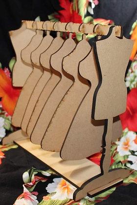 Dress Form Tag Hanger Set