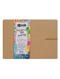 Dylusions Large Flip Journal 12 x 8.5