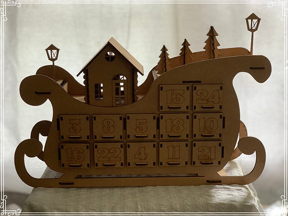 Advent Calender Sleigh