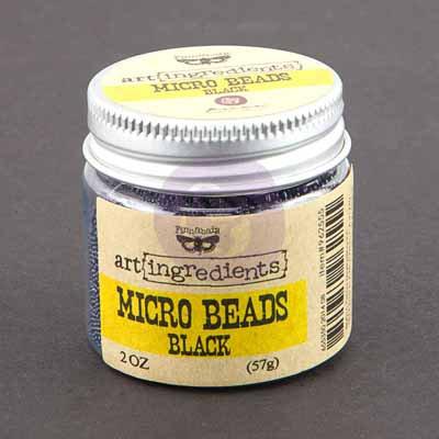 Art Ingredients Micro Beads - Black