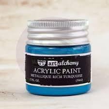 Art Alchemy - Metallique Rich Turquoise