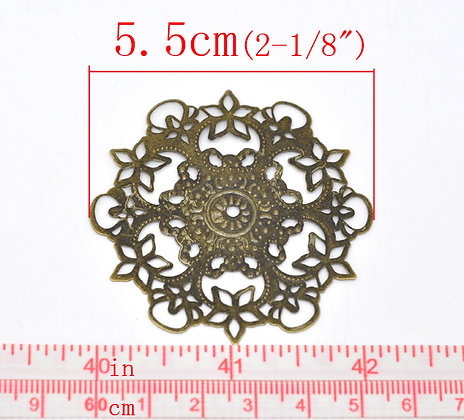 Decorative Circle Filligree