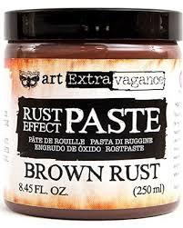 Art Extravagance - Brown Rust