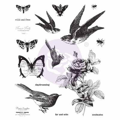 Finnabair Stamp Set - Wild & Free