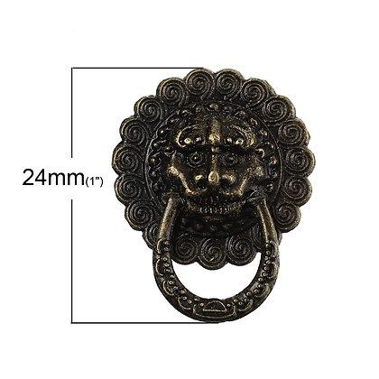 Lion Face Handle