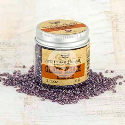 Art Ingredients - Glass Beads - Licorice