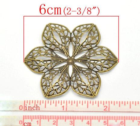 Ornate Flower Fillgree