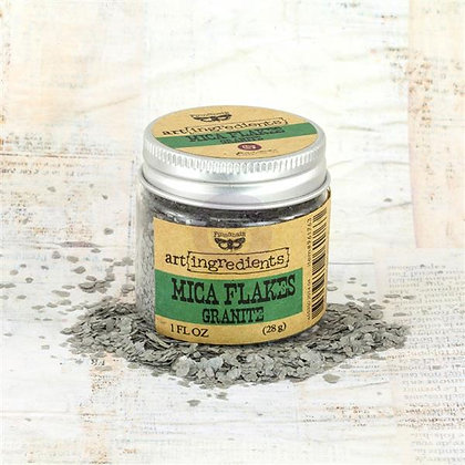 Art Ingredients - Mica Flakes - Granite