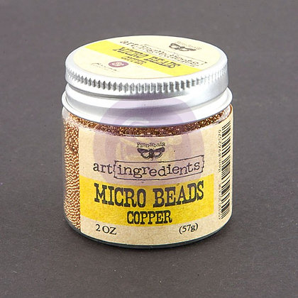Art Ingredients Micro Beads - Copper