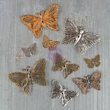 Prima Mechanicals - Butterflies - 9 Pc