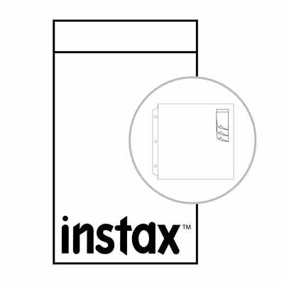 "Instax Waterfall Sleeves 2.1""x 3.4"" (20 piece)"