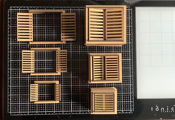 Window Shutter Pack of 3