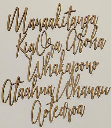 Maori word pack