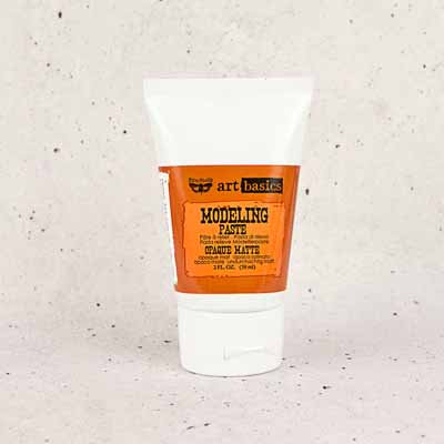 Modelling Paste - Opaque Matte Tube 2oz
