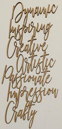 Creative Word Pack