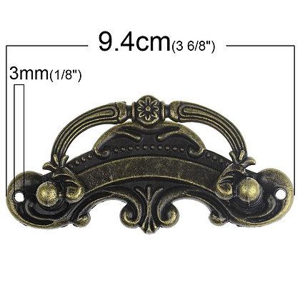 Large Ornate Handle