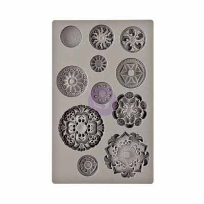 IOD Mould - Medallions