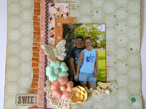 Sweet Love Layout