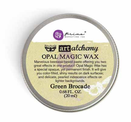 Art Alchemy - Opal Magic Wax - Green Brocade